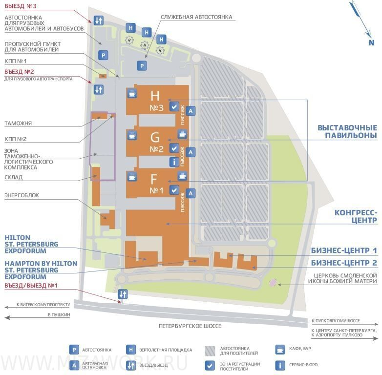 Экспофорум санкт-петербург экспофорум схема